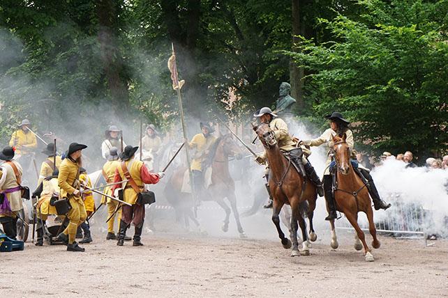 Slaget vid Lund, rekonstruktion